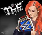 Becky Lynch TLC 2016 Drawing