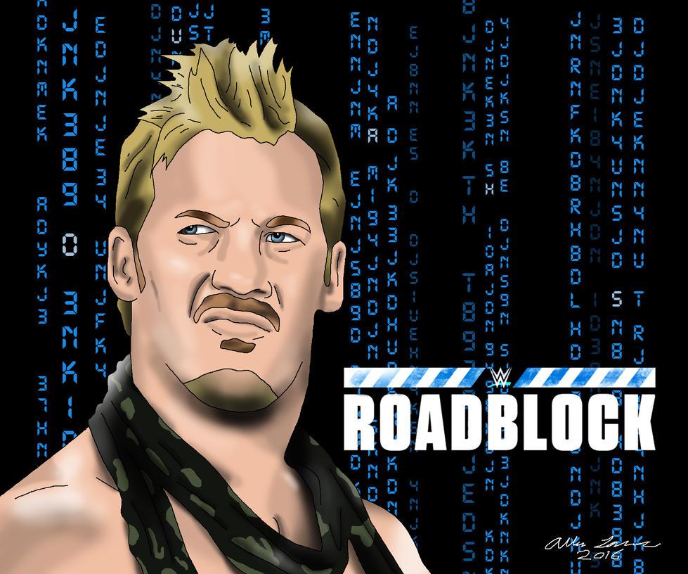 Chris Jericho WWE Roadblock 2016 by AllenThomasArtist