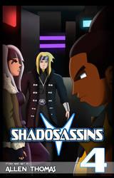 Shadosassins Cover #4 by AllenThomasArtist