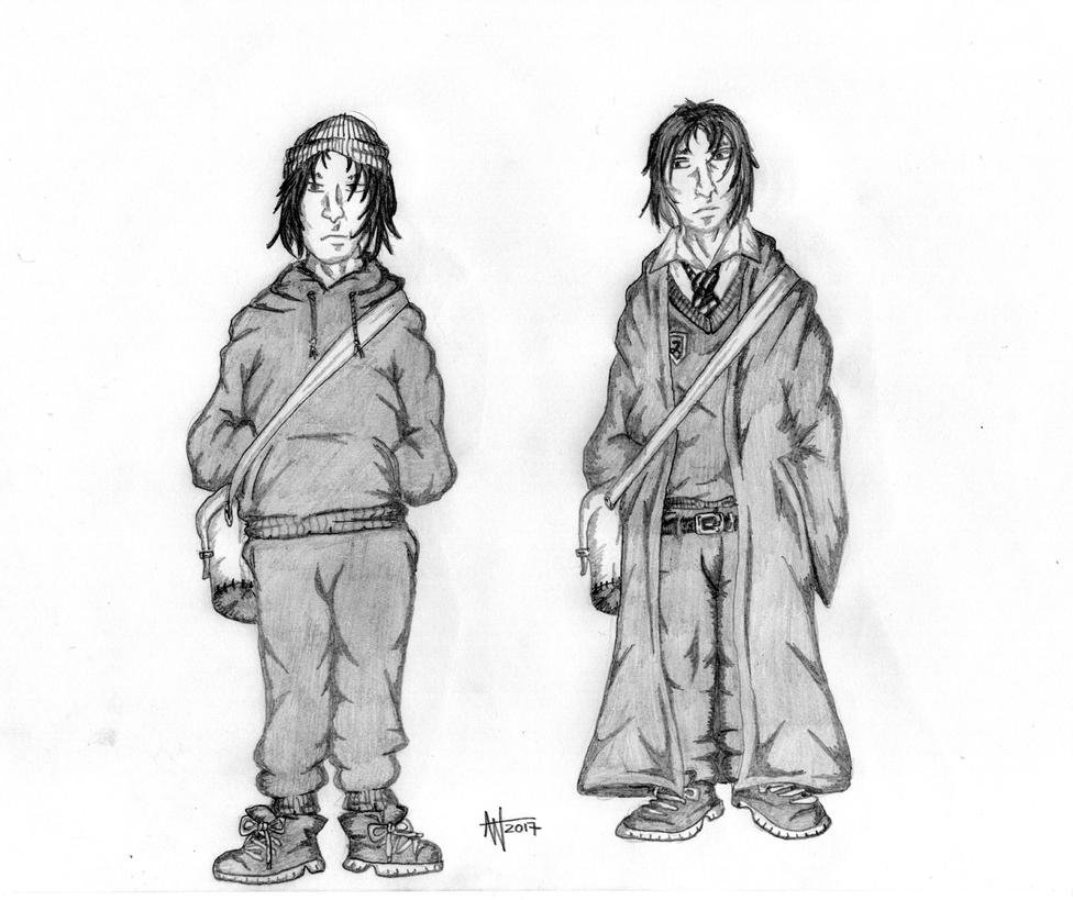 Young Severus Snape by EvilSeverus