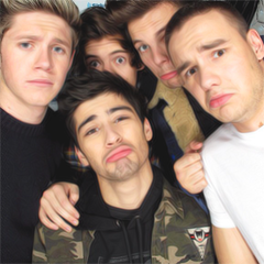 One Direction Icon by salwaisabel