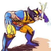 Wolverine by MonsterTraynor