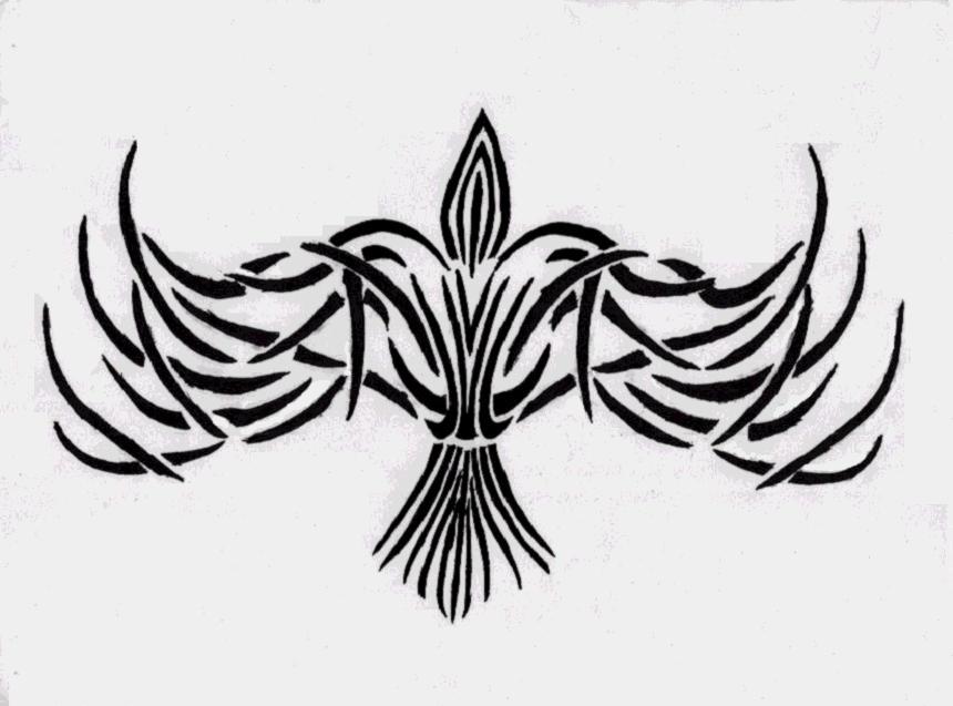 my tattoo design tribal crow by morriganwolfheart on deviantart. Black Bedroom Furniture Sets. Home Design Ideas