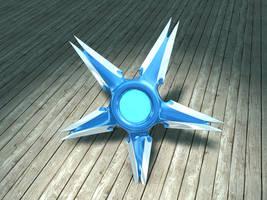 Sci-Fi Shuriken by ValdesBG