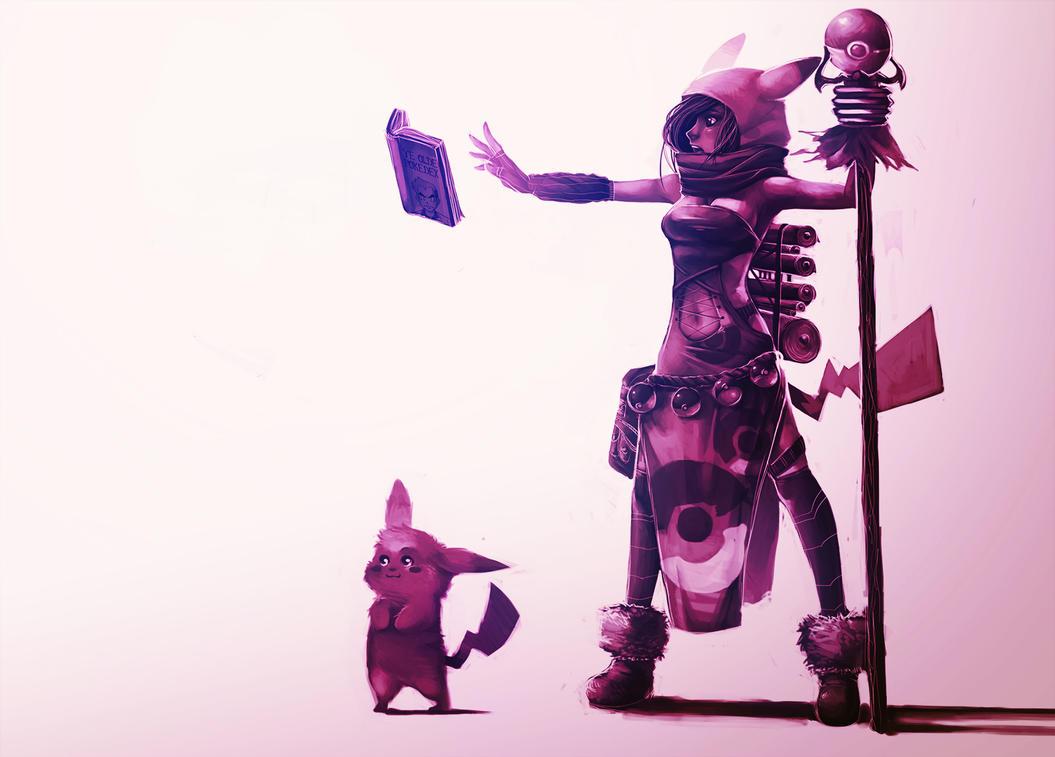 Poke'mancer by Blueberry-Cat