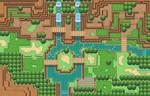 Tileset test map (Pokemon sage)