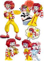 Ronald McDonald! by Beetlejulia