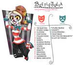 Meet the artist (clownsona)