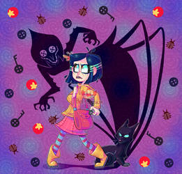 Re-re-draw : Coraline