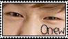 SHINee Onew Eyes Stamp by Miskuki