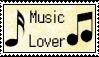 Music Lover Stamp by Miskuki