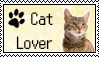 Cat Lover Stamp by Miskuki