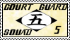 Bleach Court Guard Squad 5 Stamp by Miskuki