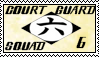 Bleach Court Guard Squad 6 Stamp by Miskuki