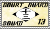 Bleach Court Guard Squad 13 Stamp by Miskuki