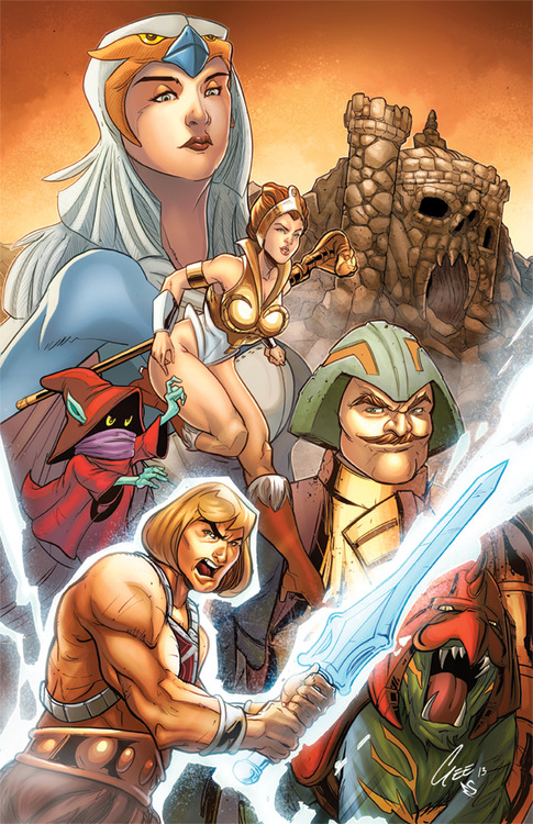 He man Masters of the Universe mash up! by jacksongee