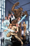 A new hope star wars coloured