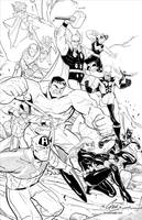 Avengers Assembled by jacksongee