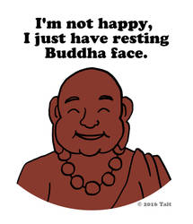 Buddha Face by ForestTraveler