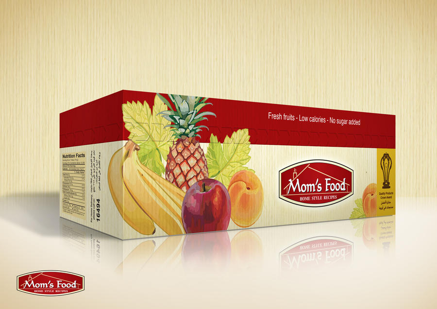 mom's food jam promotion pack by mezoomar