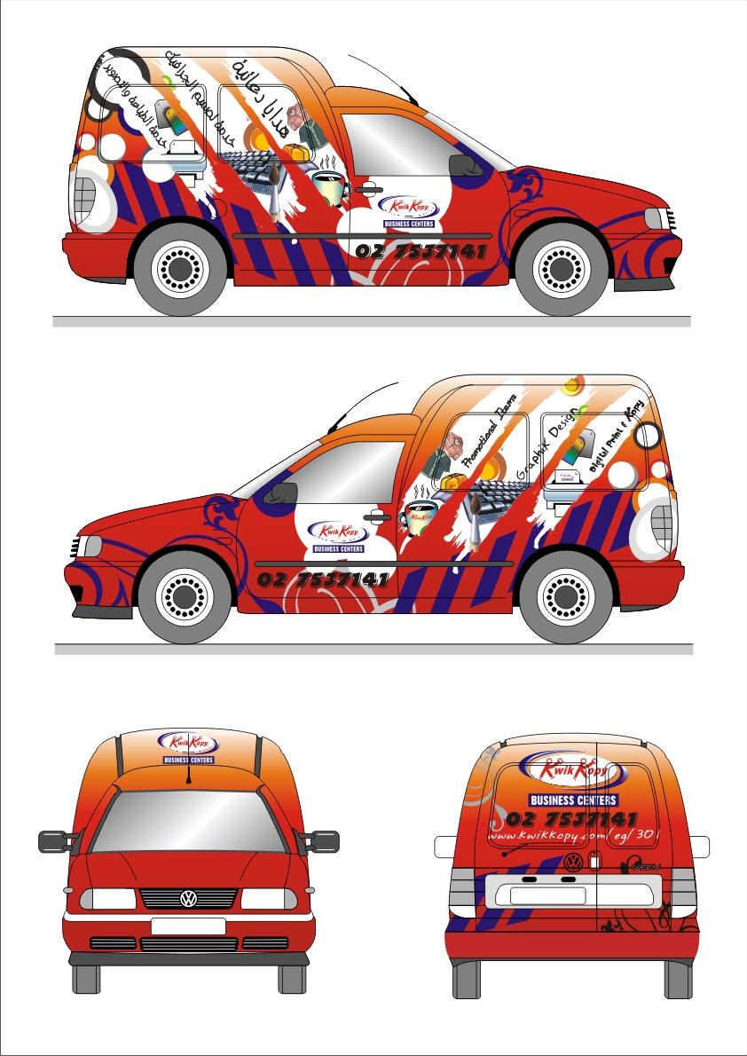 Design car wrap - Roflops942 2 1 Kwik Kopy Car Wrap Design By Mezoomar