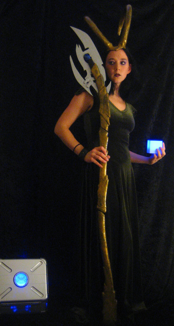 Loki Scepter - Full Scale by Thom-Heap