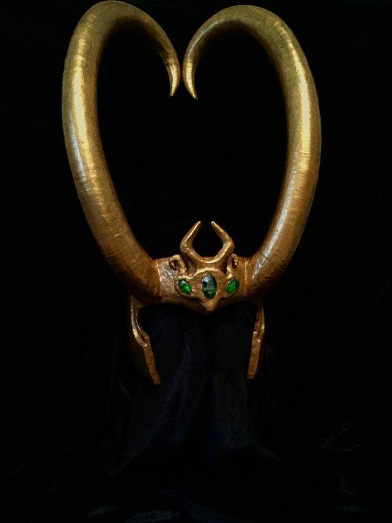 Lady Loki Headpiece by Thom-Heap