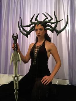 Hela Headdress and  Sword - Thor Ragnarok
