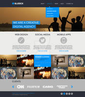 Bluebox Website Template