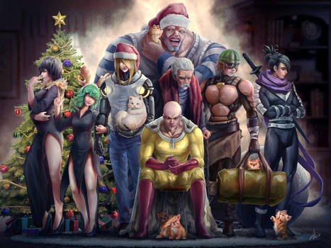 One Punch Man Christmas 2015