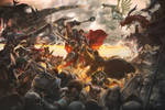 Noxus vs Demacia war