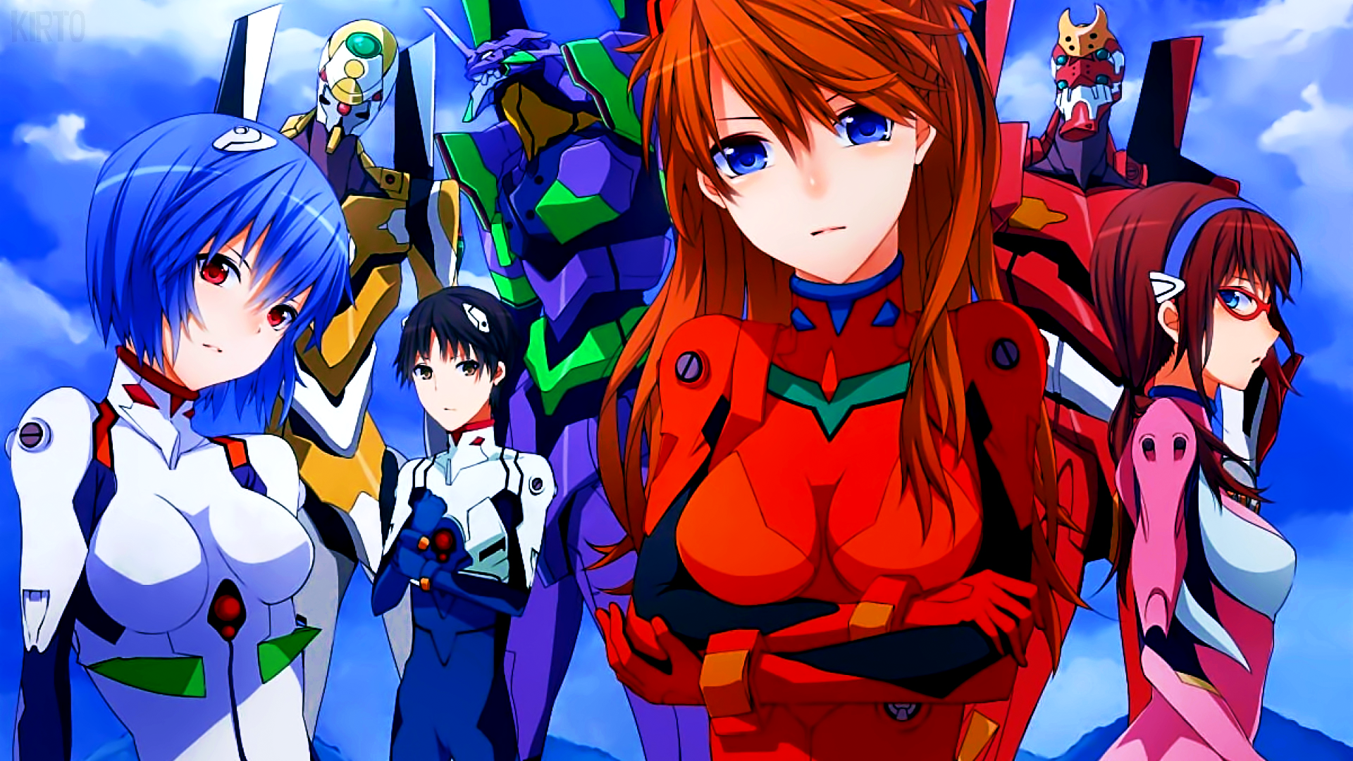 Neon Genesis Evangelion Wallpaper By Kirtofx On Deviantart