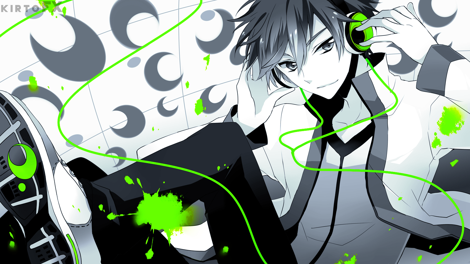 Anime Wallpaper Modern Boy By KirtoFx On DeviantArt