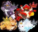 { Guest Design Pacapillars } Four Kings (Over!)