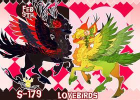 { Stygian Vday 9 } Lovebirds (Dream + Nightmare) by Zoomutt