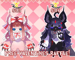 { Free 24H Valentines Pair Raffle! } Over! by Zoomutt