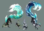{ Esk } MYO Masterlist Art - Big Splashes!