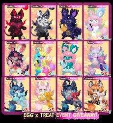 { Treat Free Raffle } EGG DAY! x Egg Event!