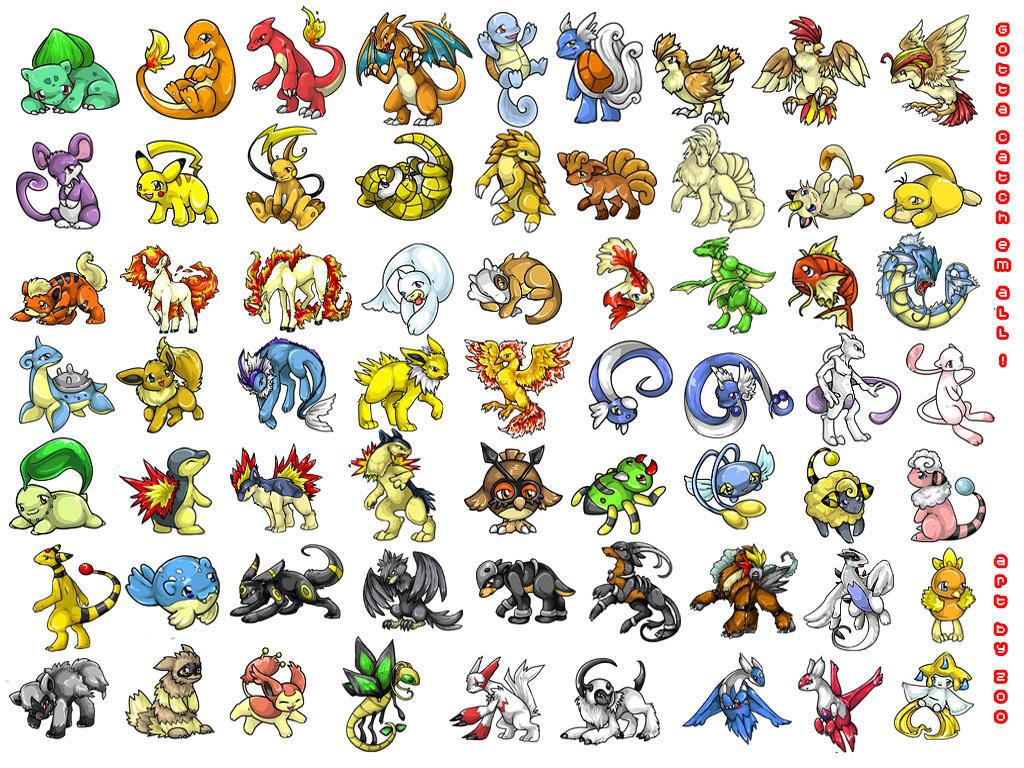 Pokemon Mania Wallpaper by Zoomutt