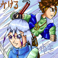 Yuki and Kakeru by powerswithin