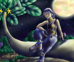 Riku and his Paopu tree by powerswithin