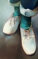 White kicks by powerswithin