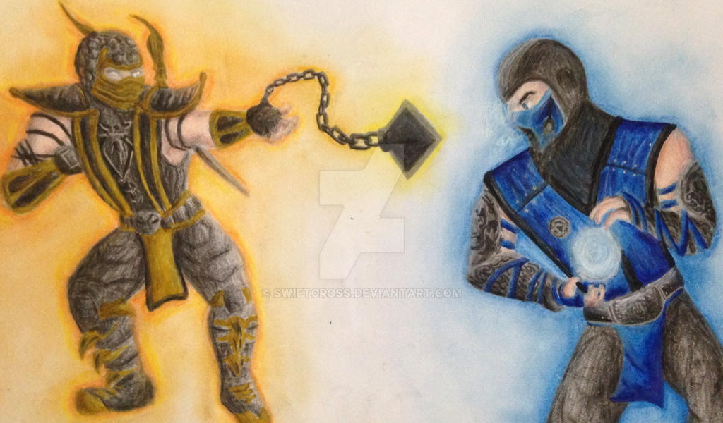 Scorpion v subzero by swiftcross