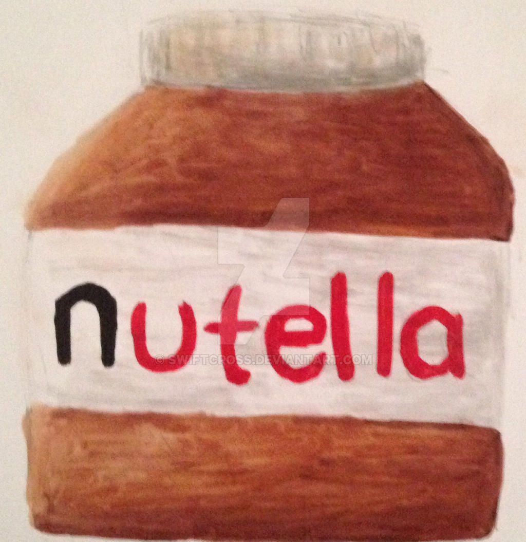 Nutella quick sketch by swiftcross