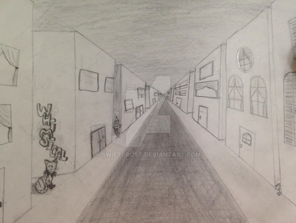 1 point perspective2014 by swiftcross