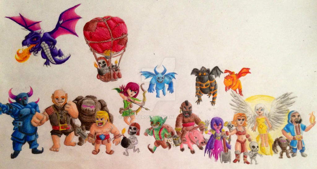 Clash of clans by swiftcross