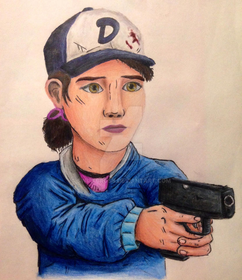Clementine-gun point by swiftcross