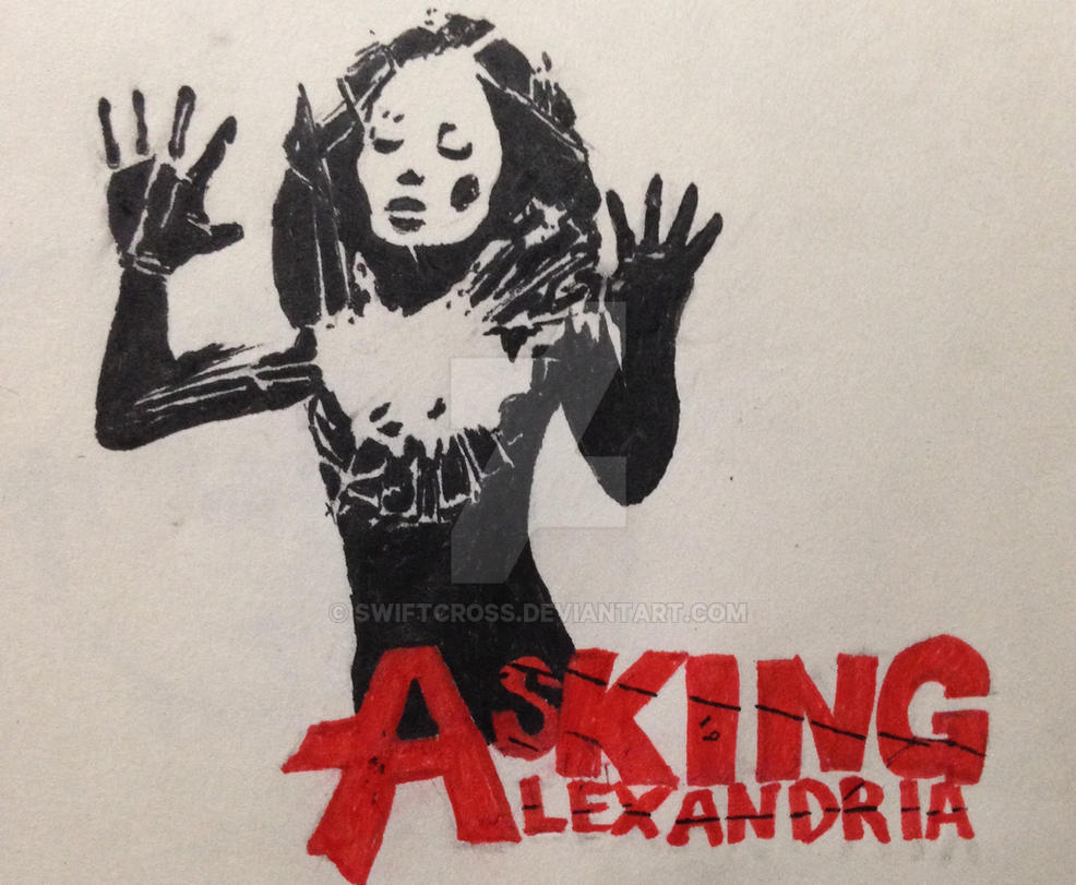 Asking Alexandria art by swiftcross