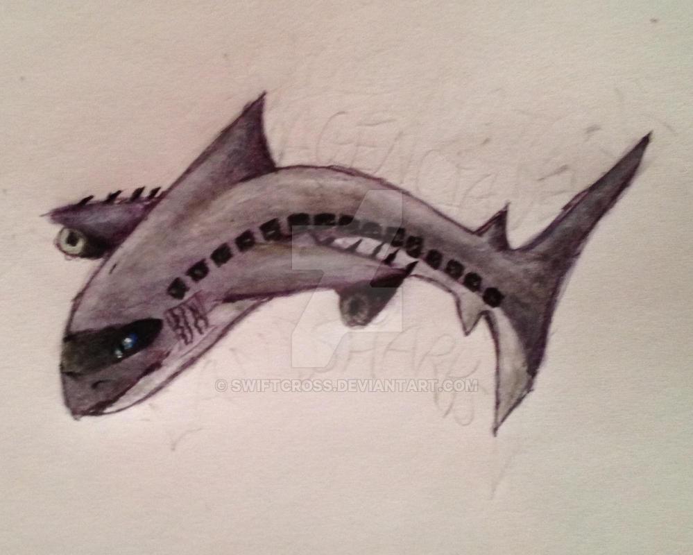 Plane shark by swiftcross