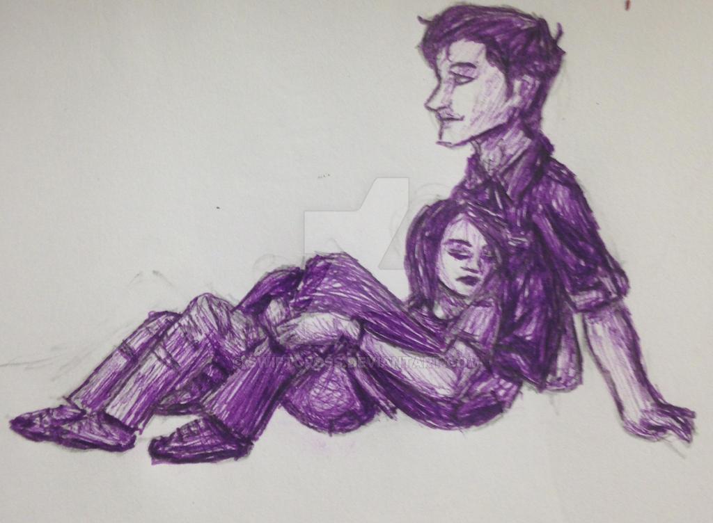 Purple couple by swiftcross